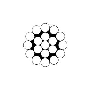 CÂBLES INOX MONOTORON 1X19