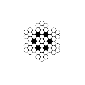 CÂBLES INOX AME METALLIQUE 7X7