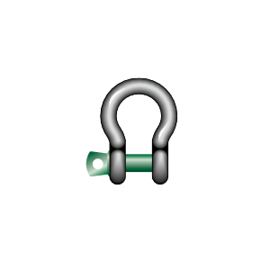 LYRE SHACKLE WITH SCREW