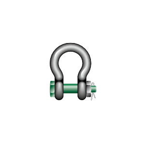LYRE SHACKLE WITH BOLT