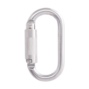 STEEL CARABINER WITH...