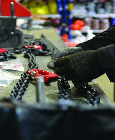 Contrôle et réparation de chaîne